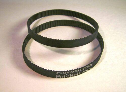 2 Pack Cog drive ceintures pour Disc Sander BD4601G USA livraison gratuite Ryobi
