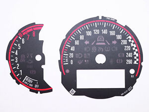Details about For Mini Cooper S F54 F55 F56 F57 F58 F59 Racing Instrument  Cluster RPM+Speedo