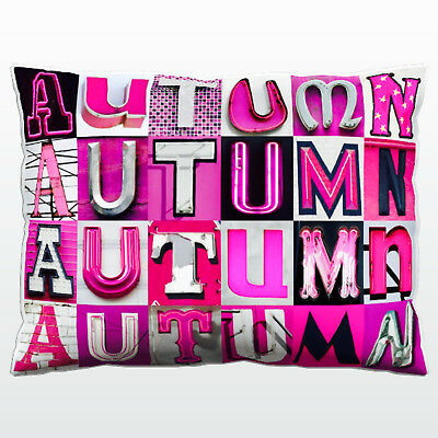 Personalized Pillowcase featuring JAXON in photo of actual sign letters