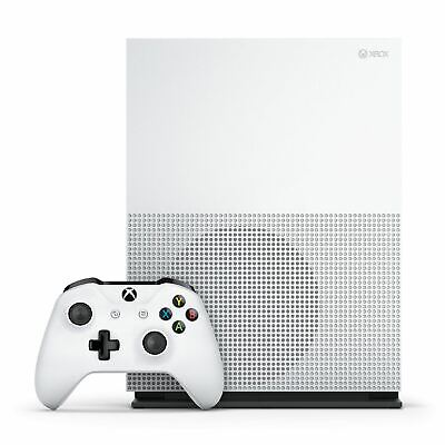 Microsoft Xbox One Slim Gaming Console 1TB HDD White WiFi Compatible