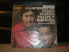 Victoria LPB-1205 Canciones De Pedro Flores Felipe Y Davilita - Con El Sexteto