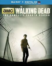 The Walking Dead: Season 4 [Blu-ray + Digital HD Ultraviolet Copy] New DVD! Ship