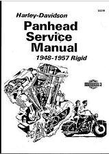 HARLEY-DAVIDSON PAN HEAD SERVICE MANUAL 1948-1957 RIGID PDF FILE