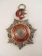 Original Silver & Enamel Turkish Ottoman Order Of Medjidie Medal