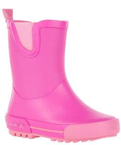 Kamik Rainplay EK9721 Regen Gummistiefel für Kinder Gr. 22 - 27 Neu