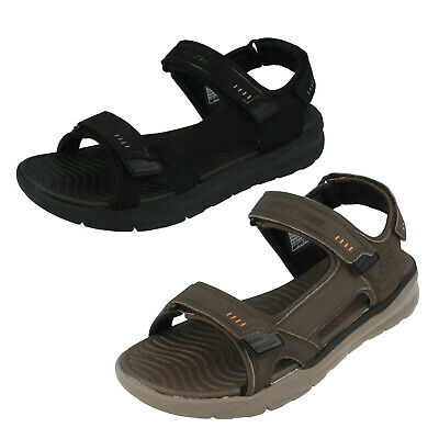 Mens Skechers Hook & Loop Strap Sandal Senco 66067 Nourishing Blood And Adjusting Spirit Sandals Clothing, Shoes & Accessories