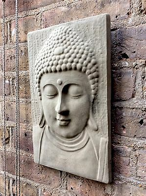 Large Divine Buddhas Wall Plaque..Exclusive & Unique From The Designer Sius