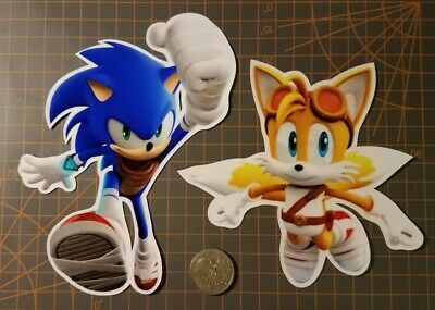 Sonic The Hedgehog Stickers Sonic and Tails Sonic Boom