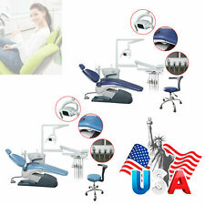 Dental Unit Chair Leather Computer Controlled Dc Motor Amp Stool Handpiece Kit Dr