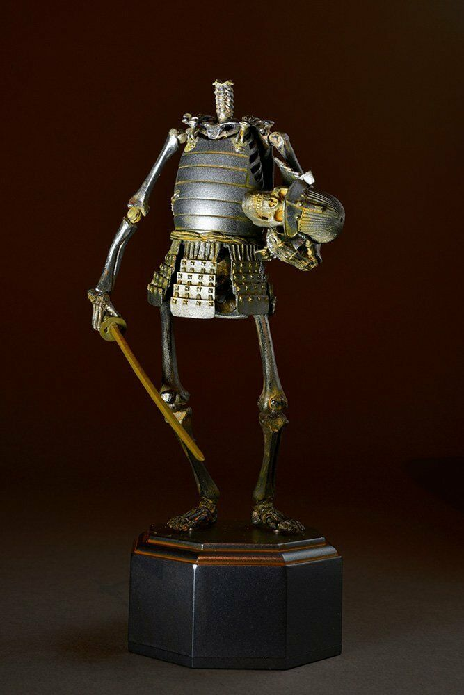 Takeya freely ornament ornament ornament skeleton warrior iron rust ver action figure 150mm KT-009 4bf223
