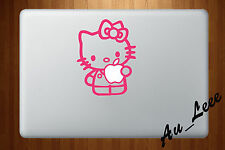factory authentic 76bfc a353f CPS Hello Kitty Ride Bicycle Mac Sticker Skin Decal Vinyl Apple ...