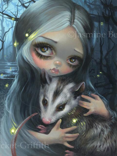 Jasmine Becket-Griffith southern gothic florida art print SIGNED My Possum