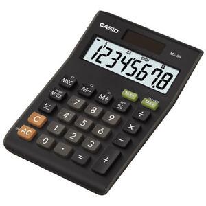 Casio-MS8B-Large-8-Digit-Multi-Function-Tax-VAT-Desk-Calculator-Dual-Solar-Power