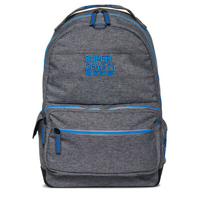 New Mens Superdry Moncheater Montana Rucksack Grey