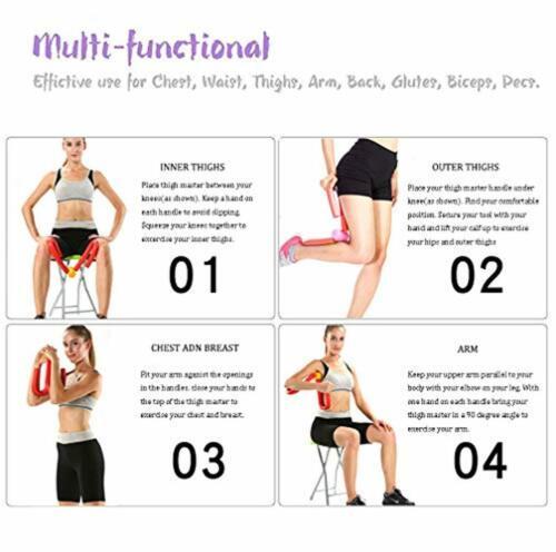 Suzanne Somers Thigh Master Butt Leg Arm Toner Trimmer leg Exerciser Equipment !