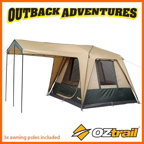 OZTRAIL FAST FRAME CRUISER 240 INSTANT UP QUICK PITCH 4 PERSON TENT  sc 1 st  eBay & Oztrail Fast Frame Cruiser 240 Instant up Quick Pitch 4 Person Tent ...