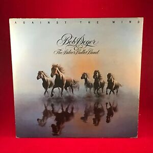 BOB-SEGER-amp-THE-SILVER-BULLET-BAND-Against-The-Wind-1980-UK-VINYL-LP-EXCELLENT