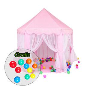 Aquagart® Kinderzelt Kinderspielzelt +10 Spielbällen Spielzelt ...