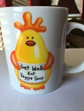 Funny Vegetable Soup Coffee Mug \ Get Well Eat Veggie Soup\  Vegan Vegetarian & Veggie Vegetable Soup Sandwich Plate Bowl Mug Set Vegetarian Corn ...