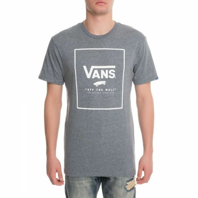 9f19615399 VANS OTW (print Box) Skate Tee T Shirt Grey Gray Heather Sz XXL 2xl ...