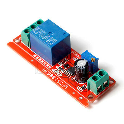 12V Delay Timer Switch Adjustable 0 to 10 Second with NE555 Oscillator MA