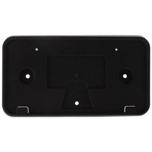 Black Front License Plate Bracket For Escape 08-12
