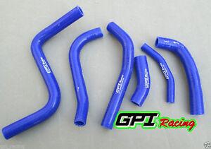 aluminum radiator and silicone hose FOR Suzuki RM-Z250//RMZ 250 2004 transparant