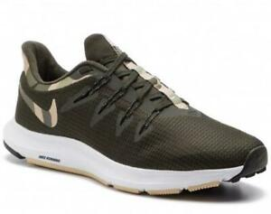 Details about Nike Quest Men's Running Shoe Camo Green Athletic Training Sport Sneakers BQ7158
