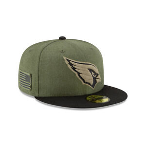 New-Era-NFL-ARIZONA-CARDINALS-Salute-to-Service-2018-Sideline-59FIFTY-Game-Cap-N