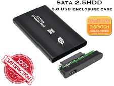 "Slim USB 3.0 SATA Superspeed 2.5"" Hard Disk Drive HDD External Enclosure Caddy"
