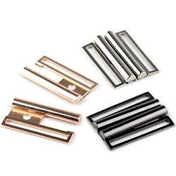 Gürtelschnalle Metallverschluss – 50mm – gold / rotgold / silber / anthrazit