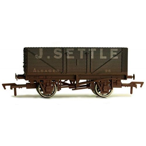 Dapol 4F-071-129 offener Güterwagen 7 plank J Settle No 25 gealtert 00