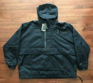 Details about NEW NIKE AIR FORCE ONE 1 PULLOVER JACKET MENS XL BLACK THERMORE LOOSE FIT NWT