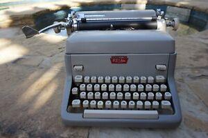 Vintage 1960 Grey Colored Model FP Portable Manual Royal Typewriter (Must See)