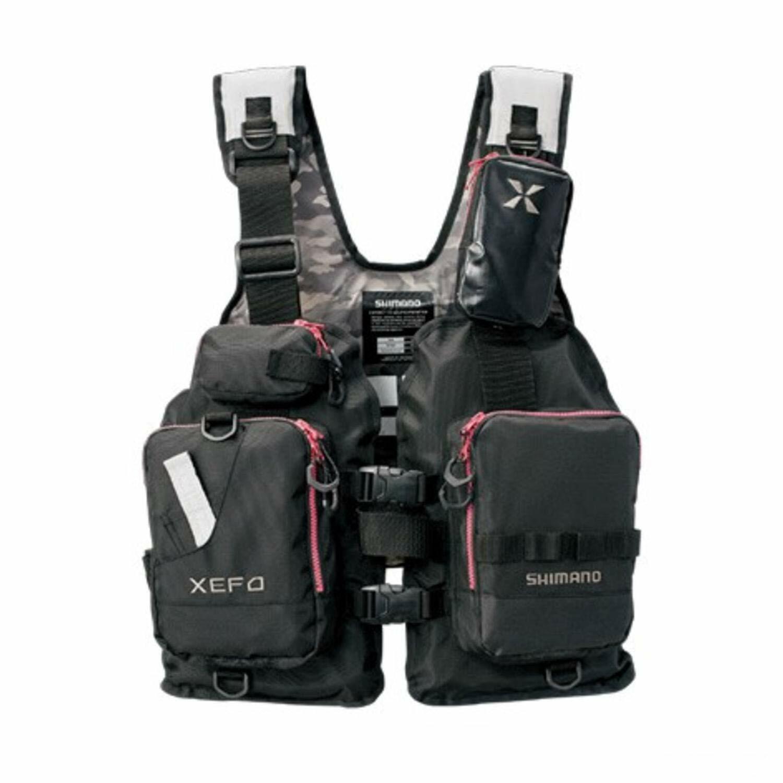 SHIuomoO XEFO pesca Vest VF278R PVC gratuito Diuominiione Japan nuovo