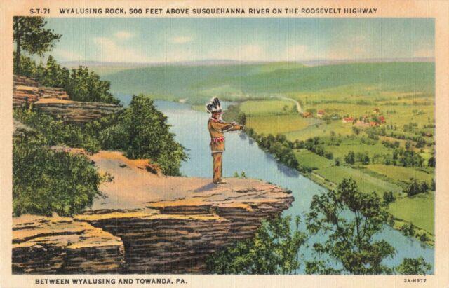 Wyalusing Rock Towanda, PA