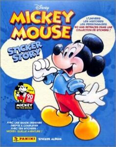 STICKERS-IMAGE-PANINI-DISNEY-MICKEY-MOUSE-STORY-90-ANS-2018-a-choisir