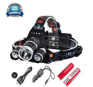 Fishing-Rechargeable-CREE-T6-LED-Headlight-Super-bright-Running-Head-Torch-UK