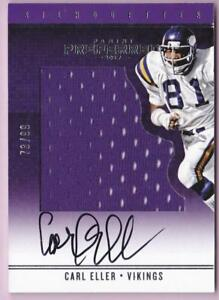 pretty nice faf7f 1769f Details about CARL ELLER 2017 PREFERRED SILHOUETTES JUMBO JERSEY #73/99  VIKINGS