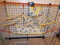 Little Minions Sugar Glider 6 Piece Cage Set