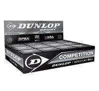 Dunlop Premium Squash Ball One Dozen ( One Box Of 12 Squash Balls)