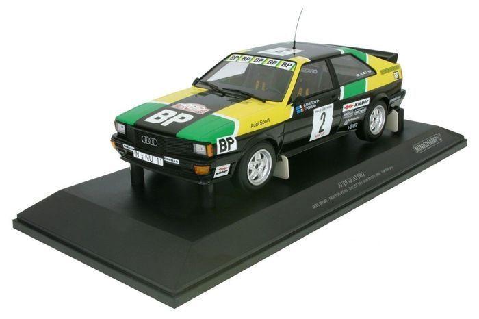 Audi Quattro Audi Sport Rallye des 1000 Pistes 1981 - 1 18 - Minichamps