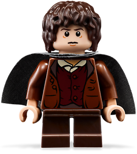 Genuine-Lord-Of-The-Rings-Frodo-Baggins-Mini-figure-lor003-set-9470