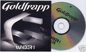GOLDFRAPP-Number-1-2005-UK-1-trk-promo-CD-card-sleeve