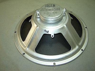 """Vintage 12""""  Bogen Speaker -- 93-0030-01A -- 8 Ohms"""