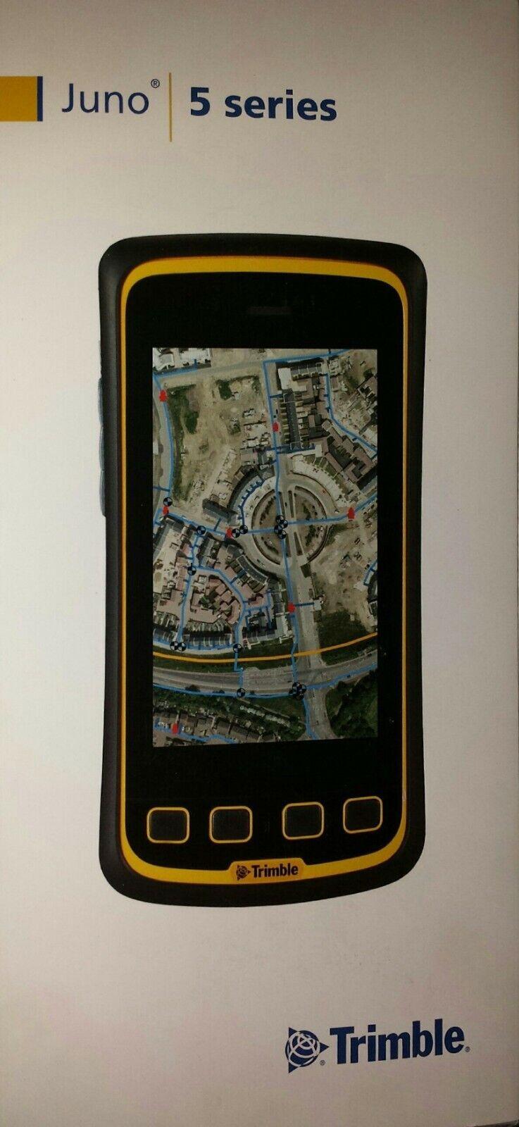 Trimble Juno 5D Handheld Data Collector w/ 3.75 G phone capabilities New