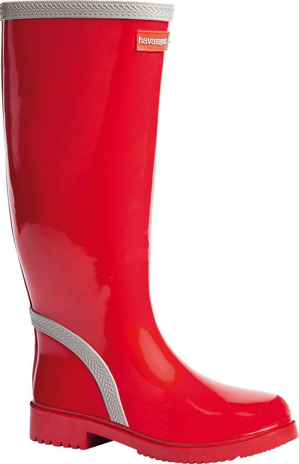 garantito Havaiana Tall Tall Tall Donna Stivali Rosso Grigio EU 36-EU 42  confortevole