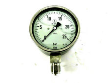 "Ölbrenner Wartung 1 x Öldruck Manometer Glyzerin 1//8/"" Ø 50 mm 0-25 bar"