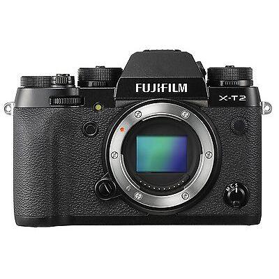 Fujifilm X-T2 24.3MP Mirror-less Digital Camera Body Only *Free EMS Shipping*