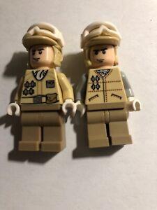 Lego 1x Minifig casque helmet star wars SW Hoth Rebel Trooper gris foncé 87555